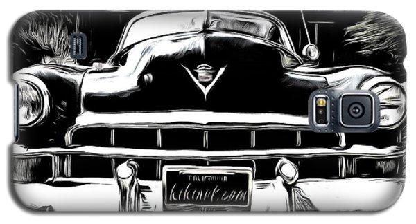 Black Cadillac Galaxy S5 Case