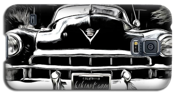 Black Cadillac Galaxy S5 Case