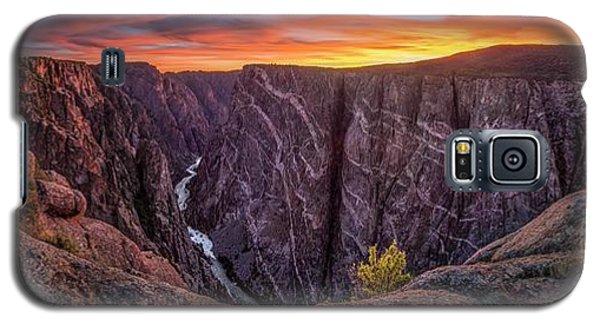 Black Canyon Of The Gunnison Galaxy S5 Case