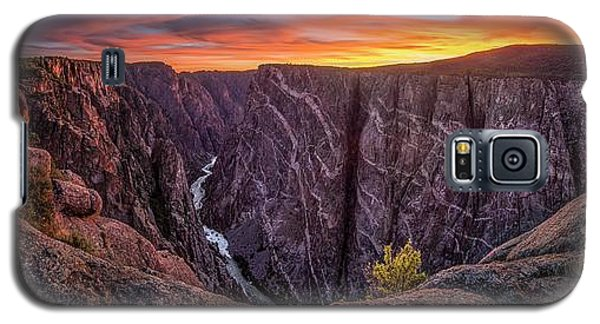 Black Canyon Of The Gunnison Galaxy S5 Case