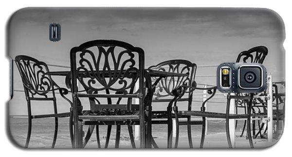 Black Cast Iron Seats Galaxy S5 Case