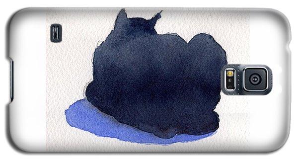 Black Cat Galaxy S5 Case