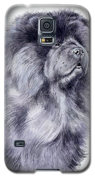 Black Chow Chow  Galaxy S5 Case