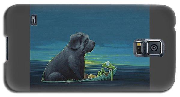 Black Dog Galaxy S5 Case by Jasper Oostland