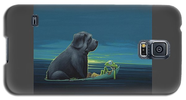 Black Dog Galaxy S5 Case by Jasper Oostland