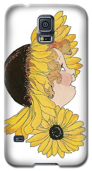 Black-eyed Susan Galaxy S5 Case by Roger Mullenhour