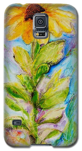 Black Eyed Susan Galaxy S5 Case by Theresa Marie Johnson