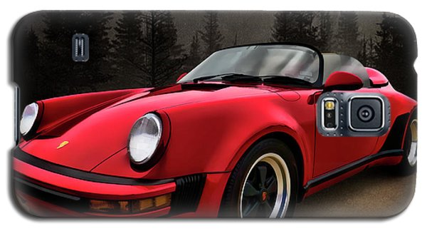 Black Forest - Red Speedster Galaxy S5 Case by Douglas Pittman