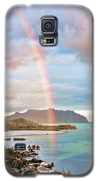 Black Friday Rainbow Galaxy S5 Case