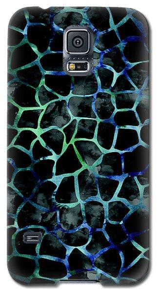 Black Giraffe Print Galaxy S5 Case