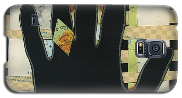 Black Hand Collage Galaxy S5 Case