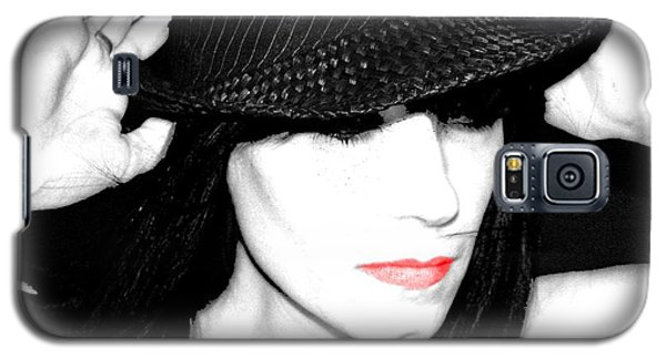 Black Hat Galaxy S5 Case by Tbone Oliver