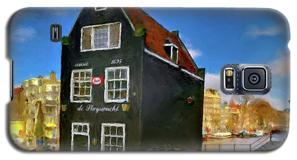 Black House In Jodenbreestraat #1. Amsterdam Galaxy S5 Case