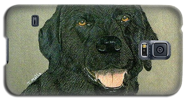 Black Labrador Retriever Galaxy S5 Case by Terri Mills