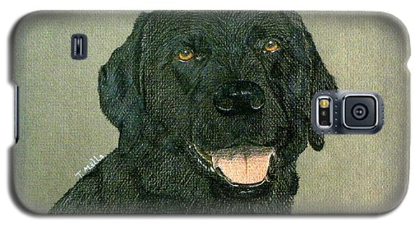 Black Labrador Retriever Galaxy S5 Case