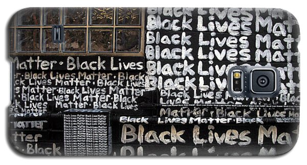 Black Lives Matter Wall Part 1 Of 9 Galaxy S5 Case