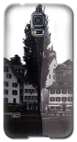 Galaxy S5 Case - Black Lucerne by Christian Eberli