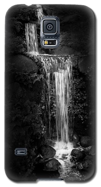 Galaxy S5 Case featuring the photograph Black Magic Waterfall by Peter Thoeny