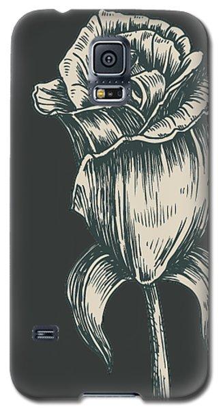 Black On Black Galaxy S5 Case