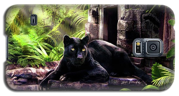 Black Panther Custodian Of Ancient Temple Ruins  Galaxy S5 Case