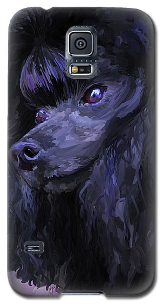 Black Poodle Galaxy S5 Case