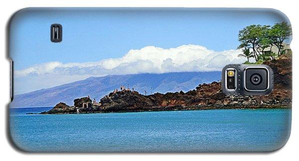 Black Rock Beach And Lanai Galaxy S5 Case