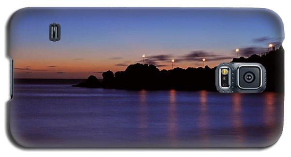 Black Rock Sunset Galaxy S5 Case