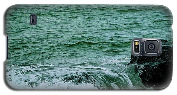 Black Rocks Seascape Galaxy S5 Case