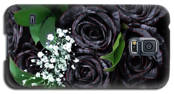 Black Roses Bouquet Galaxy S5 Case