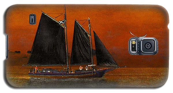 Black Sails In The Sunset Galaxy S5 Case by Chris Armytage