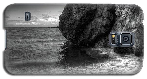 Black Sand Beach Galaxy S5 Case