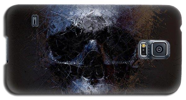 Black Skull Galaxy S5 Case