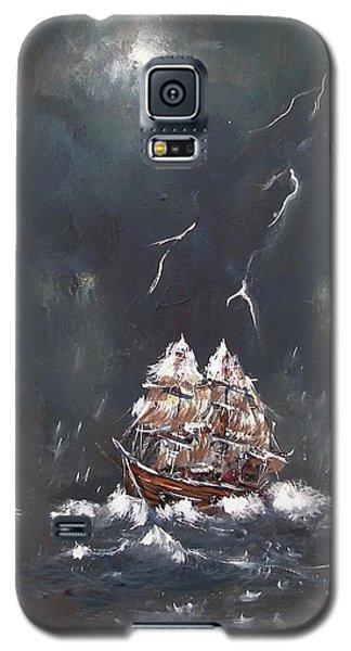 Black Storm Galaxy S5 Case