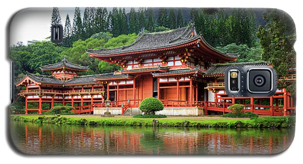 Black Swans At Byodo-in Galaxy S5 Case