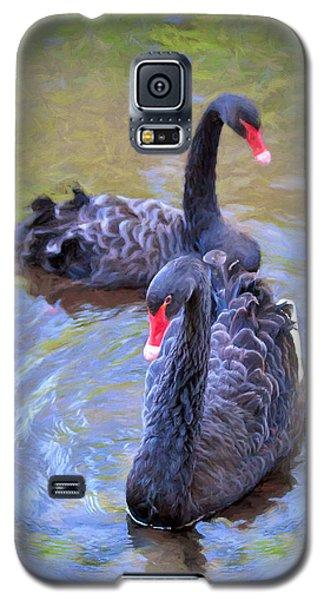 Black Swans Galaxy S5 Case
