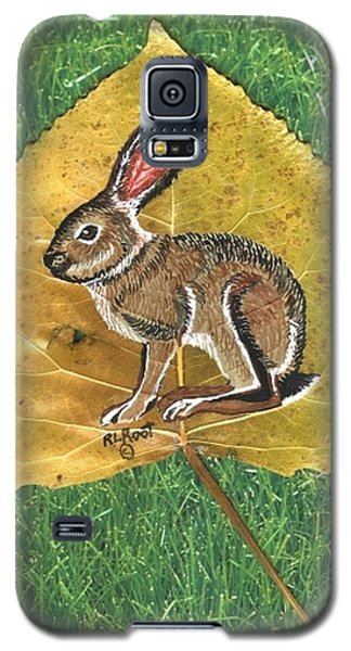 Black Tail Jack Rabbit  Galaxy S5 Case