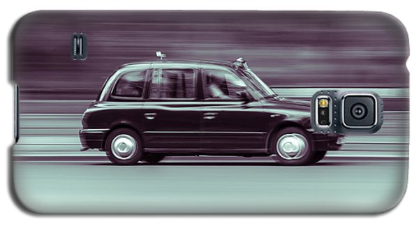 Black Taxi Bw Blur Galaxy S5 Case