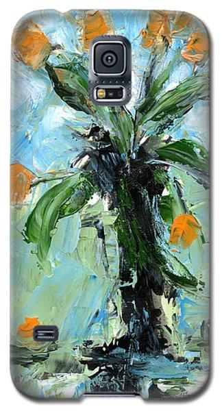Black Vase Galaxy S5 Case