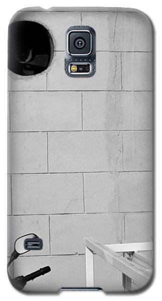 Galaxy S5 Case featuring the photograph Black White Grey by Prakash Ghai