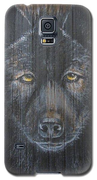 Black Wolf Galaxy S5 Case