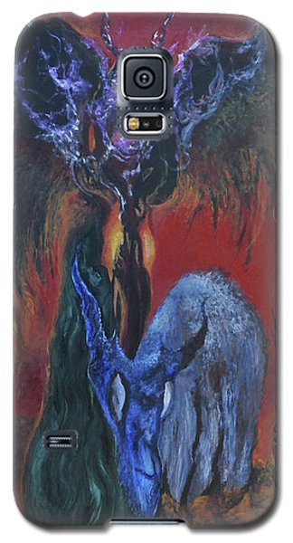 Blackberry Thorn Psychosis Galaxy S5 Case