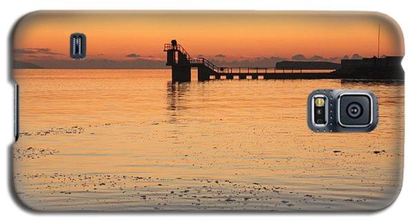 Blackrock Sunset Galaxy S5 Case