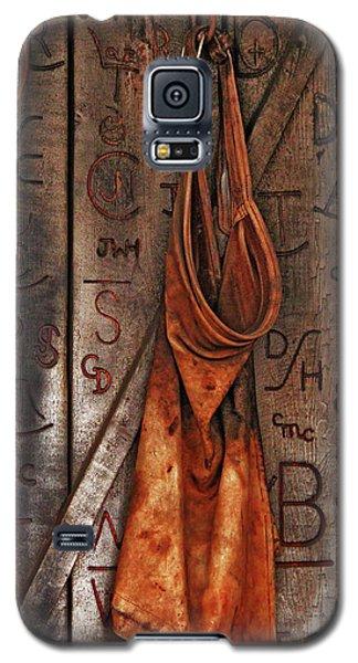 Galaxy S5 Case featuring the photograph Blacksmith Apron by Rowana Ray
