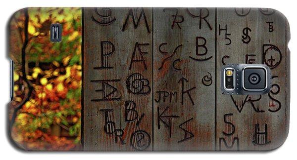 Galaxy S5 Case featuring the photograph Blacksmith Board by Rowana Ray