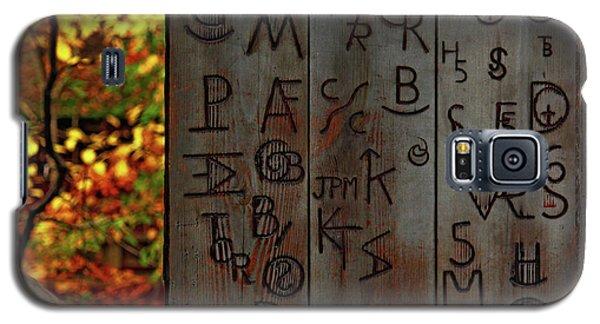 Blacksmith Board Galaxy S5 Case by Rowana Ray