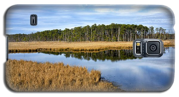 Galaxy S5 Case featuring the photograph Blackwater National Wildlife Refuge In Maryland by Brendan Reals
