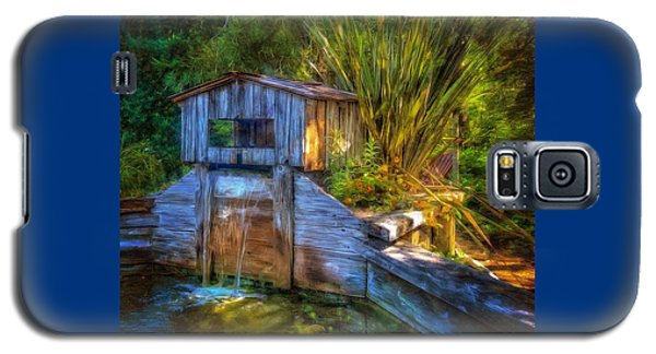 Blakes Pond House Galaxy S5 Case by Thom Zehrfeld