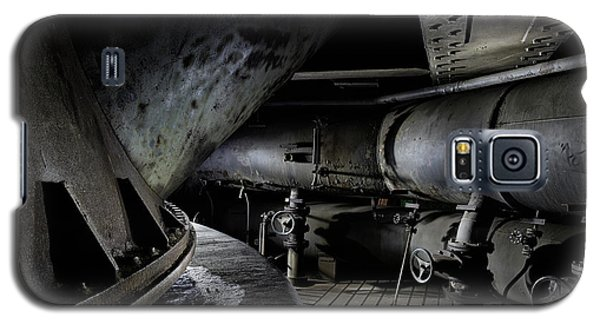 Galaxy S5 Case featuring the photograph Blast Furnace Piping by Dirk Ercken