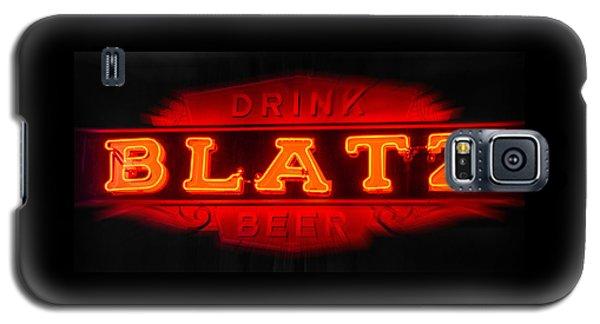 Blatz Beer  Galaxy S5 Case by Susan  McMenamin
