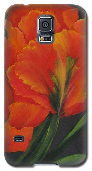 Blaze Of Glory Galaxy S5 Case by Carol Sweetwood